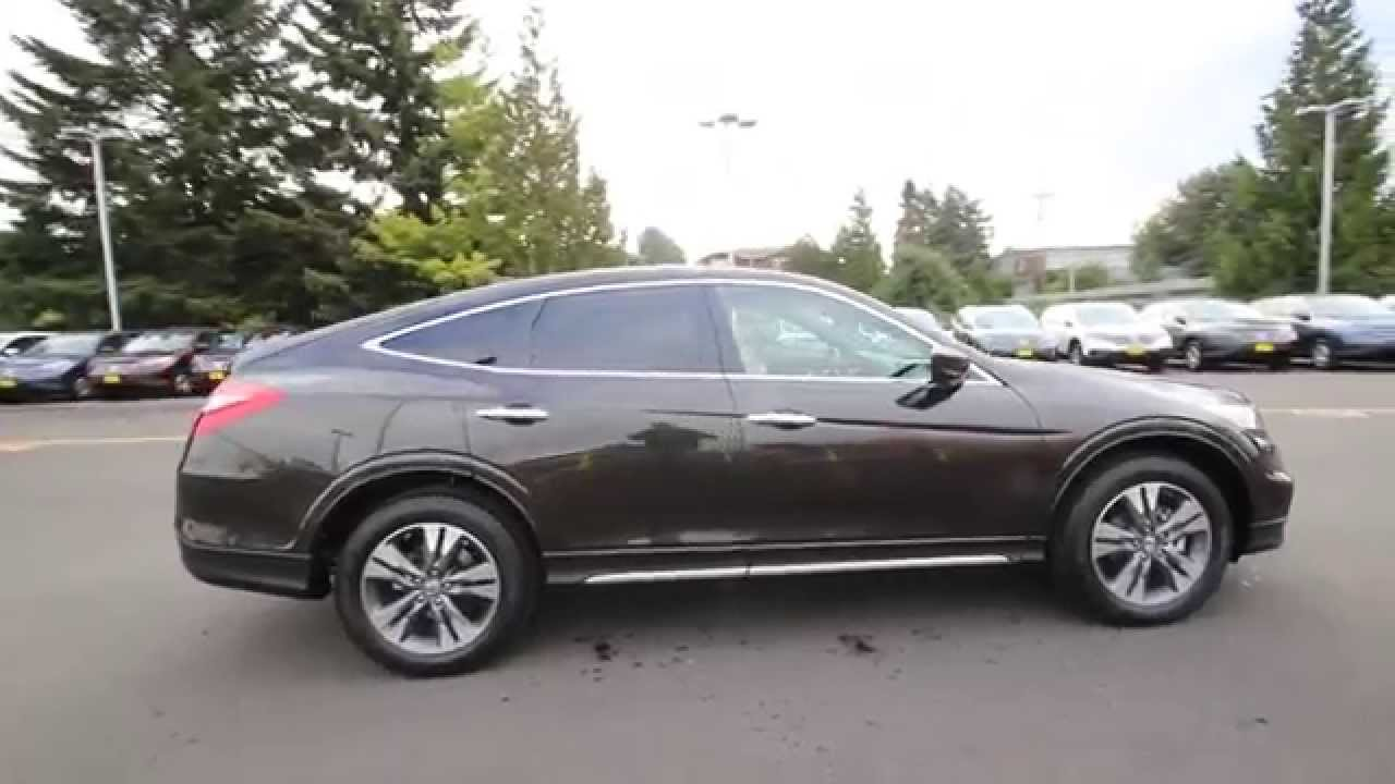 Honda Of Seattle >> 2015 Honda Crosstour EX-L | Kona Coffee | FL000035 | Seattle | Renton - YouTube