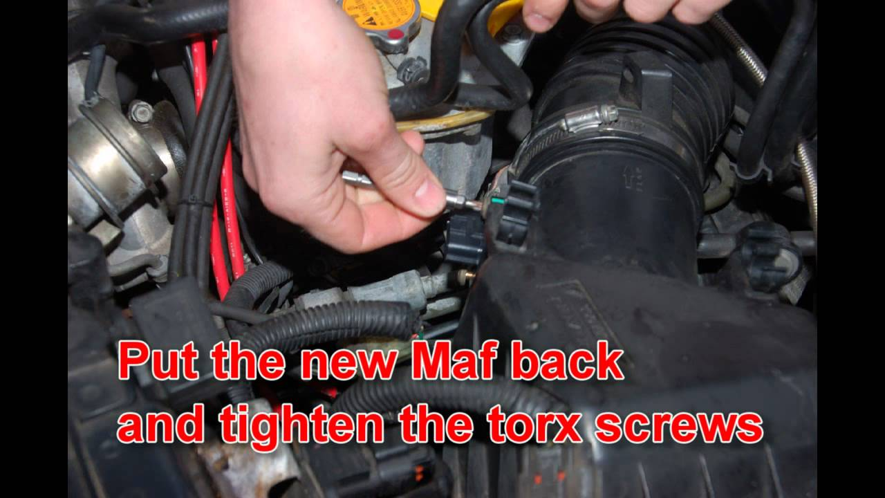 Maf Sensor Replacement Subaru Impreza Gt My99 Youtube 2000 Outback Map Location