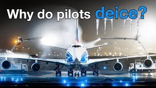 Why do PILOTS DEICE? Explained by CAPTAIN JOE