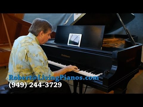 Bach Italian Concerto (Part 2) - Learn to Play Piano - Online Piano Lessons - Robert Estrin