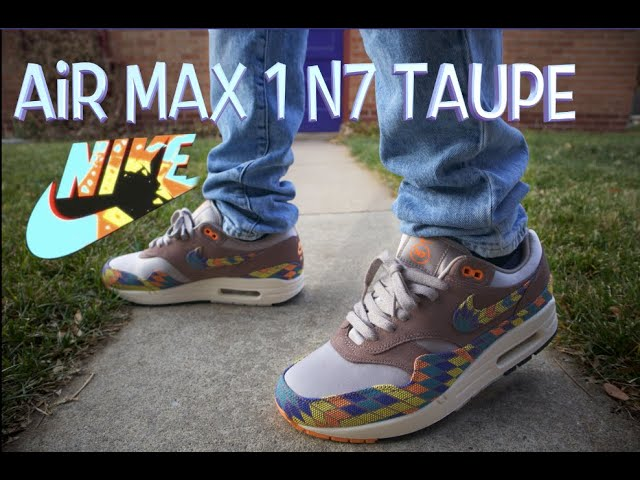 Runners Episode 4: Air Max 1 N7 Taupe REVIEW and ON-FEET - YouTube