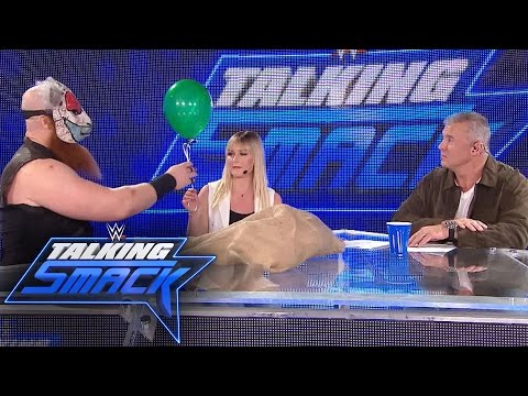What makes Erick Rowan laugh: WWE Talking Smack, May 16, 2017 (WWE Network Exclusive)