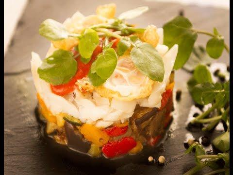 Timbal De Verduras Gourmet Con Bacalao