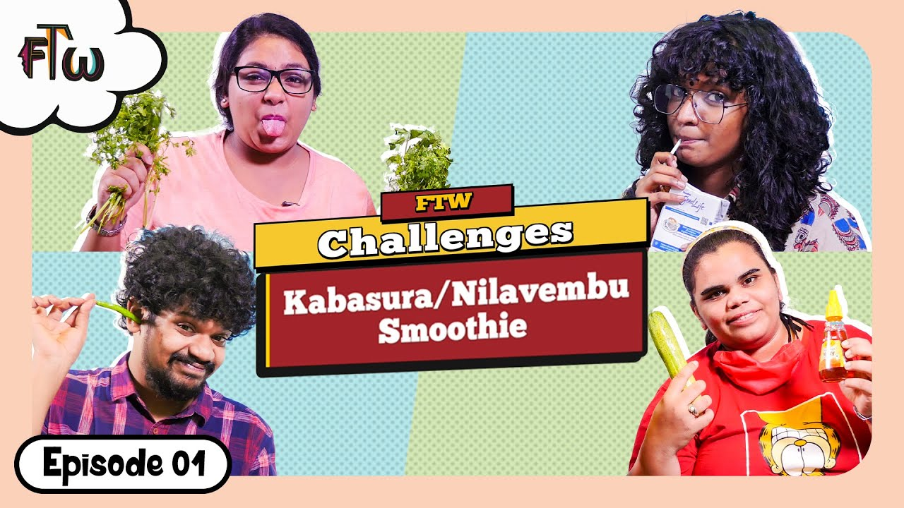 GK Questions with Kabasura Smoothie | FTW Challenges | Ep 1 | #StayHome #StaySafe | For The Women