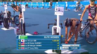 2014 ITU World Triathlon Grand Final Edmonton - Elite Women
