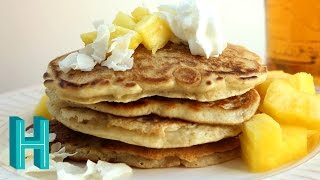 Baixar How to Make Piña Colada Pancakes  |  Hilah Cooking