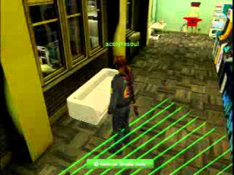 PlayStation Home - Playground Apartment tour ARCADE!