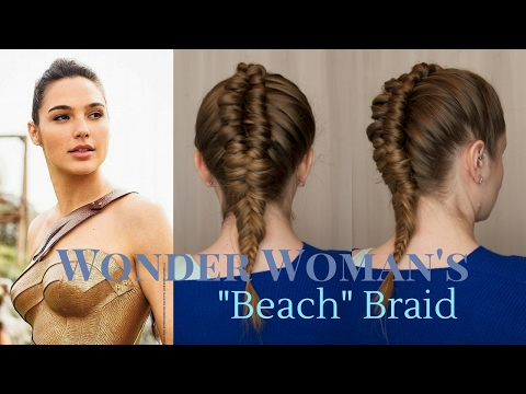 "Superhero Style: Wonder Woman's ""Beach"" Braid"