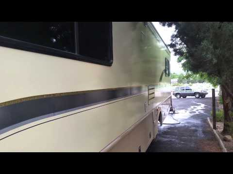 Zep floor polish/wax on Rv's, how to make a rv shine in half the time
