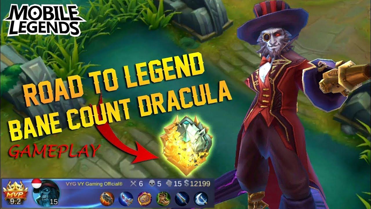 road to legend soloq ranked match advance server count dracula bane gameplay mobile legends. Black Bedroom Furniture Sets. Home Design Ideas