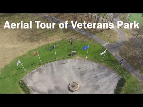 Aerial Tour of Veterans Park