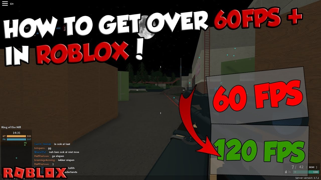 How To Remove The 60 Fps Cap Easy Roblox Tutorial Youtube