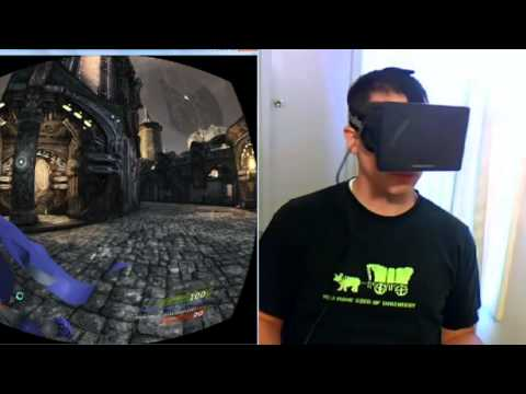 Oculus Rift plus Razer Hydra VR First Person Shooter