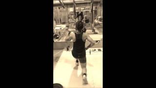 Charlotte Kalla träning