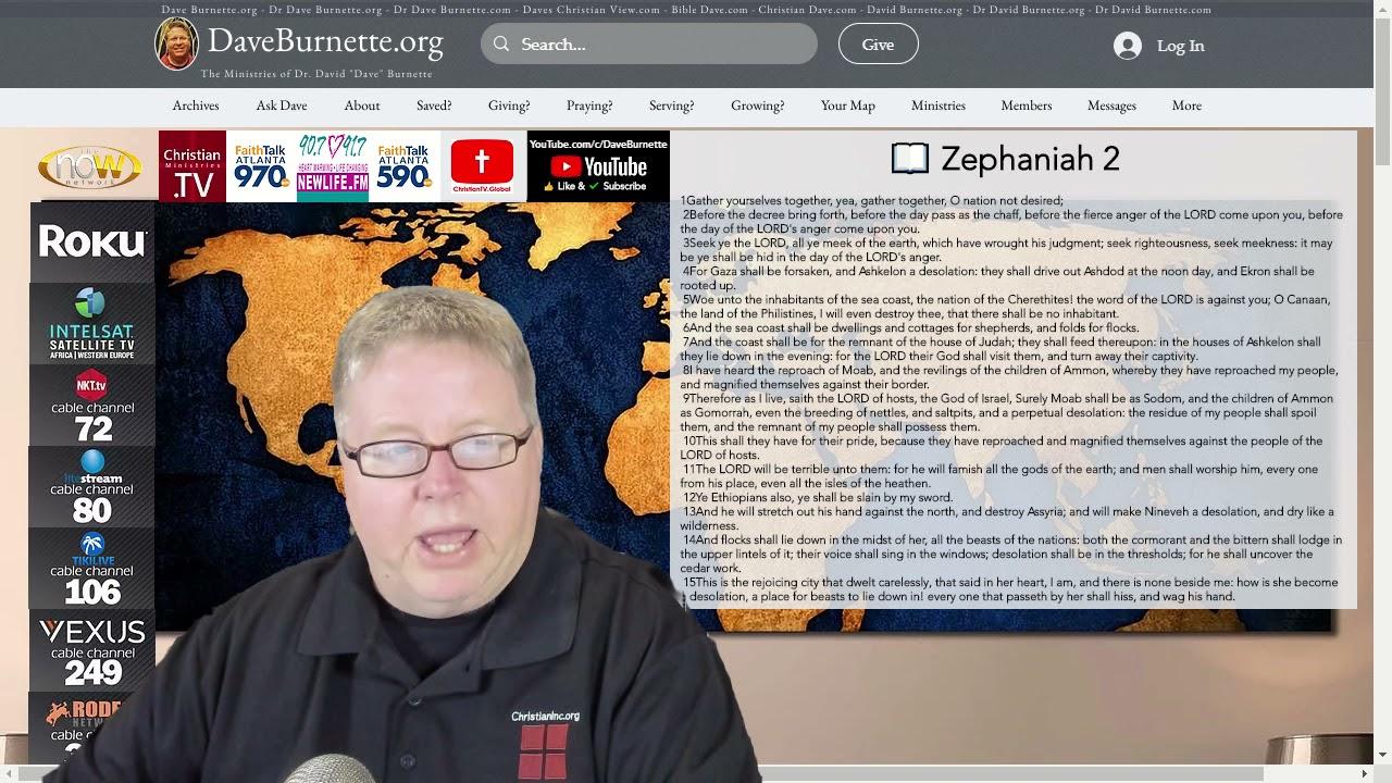Zephaniah 2 ✒️ God's Simple Solution