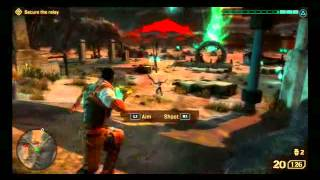 Starhawk (PS3) -  Gameplay