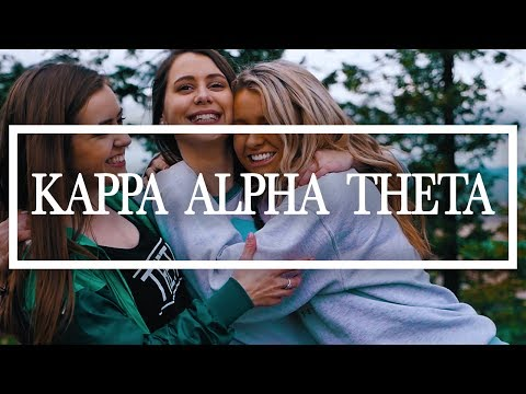 KAPPA ALPHA THETA // Washington State University Recruitment Video 2017