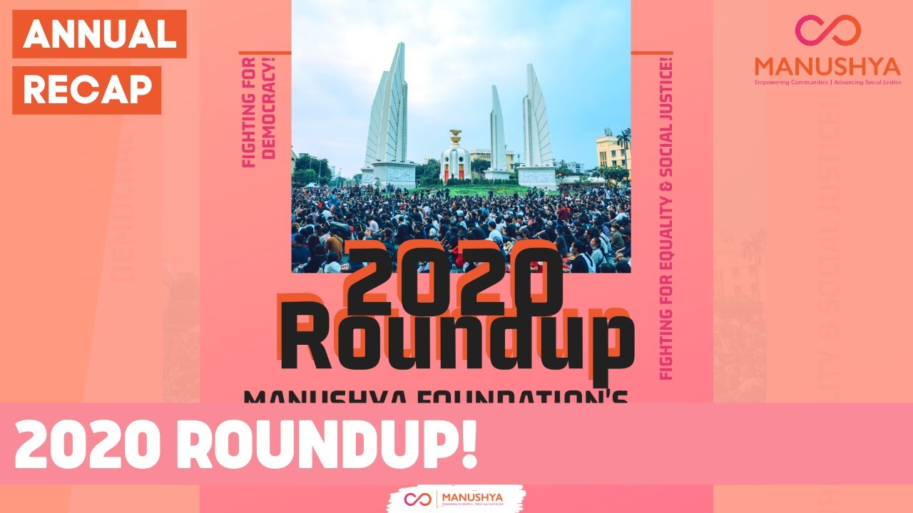 A Year at Manushya: 2020 Roundup!
