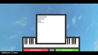 Darkside - ROBLOX Piano (sheet in description)