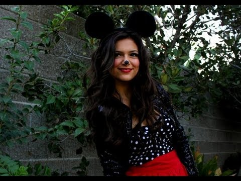 Minnie mouse diy halloween costume youtube solutioingenieria Choice Image