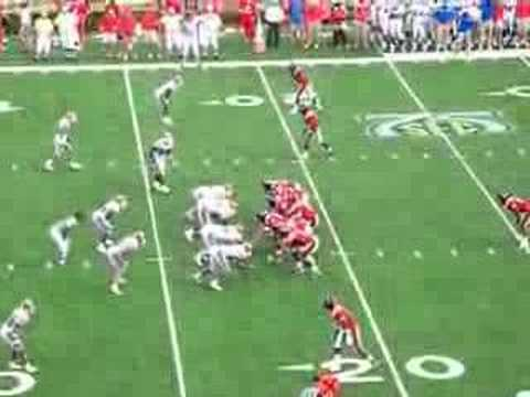 Seth Adams to Shay Hodge Touchdown Pass