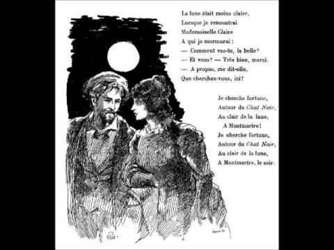 Aristide Bruant - Le chat noir (avec paroles)