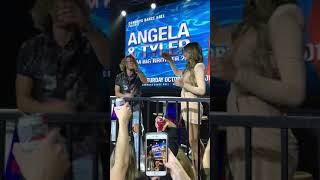 Intro Tyler & Angela #Tangela #bb20 Q&A in Calgary Canada Oct. 20, 2019