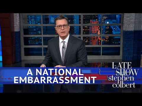 The Embarrassing President Feels Embarrassed