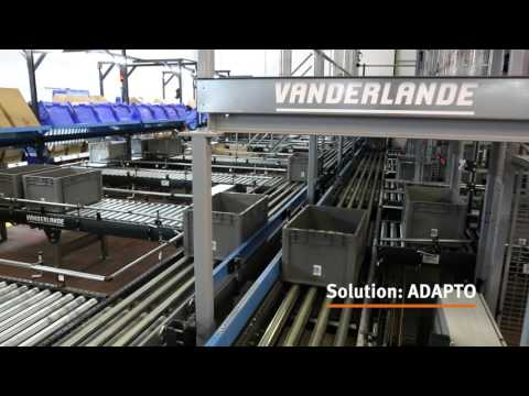 Vanderlande ADAPTO system at Juan Alberto Recio