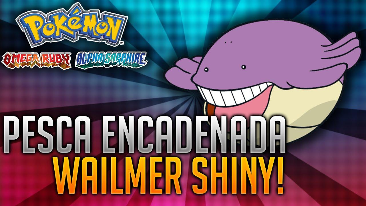 WAILMER SHINY!!!- Reacción en VIVO - Pokémon Rubí Omega y Zafiro ... Wailmer Pokemon