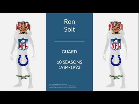 Ron Solt: Football Guard