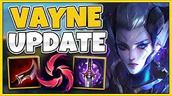*ADC UPDATE* VAYNE CAN NOW ONE-SHOT ANYONE EASILY! (NEW BUFFS) - League of Legends