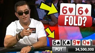 Would You FOLD A SET To This Maniac? (2019 WSOP Main Event Final Table)