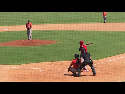 Arquimedes Gamboa Gets A Double In Fall Instructional League Play