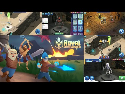 Royal Battleground IO [ Android ] Gameplay Walkthrough LVL1-4 & showing some of the game's feature