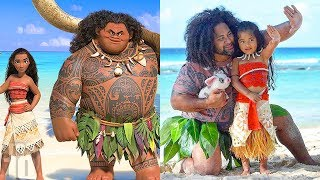 10 Disney Characters REIMAGINED As Real People | Compilation