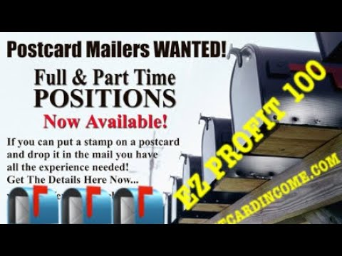 Make Money from Home EZ Profit 100 2018 Direct Mail Marketing Home
