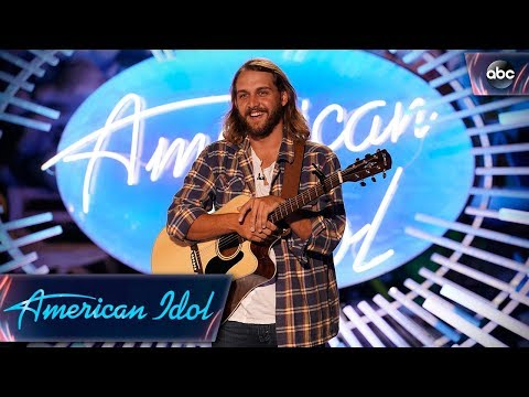 "Brandon Elder Auditions With Original Song About His Mom Called ""Gone"" - American Idol 2018 on ABC"