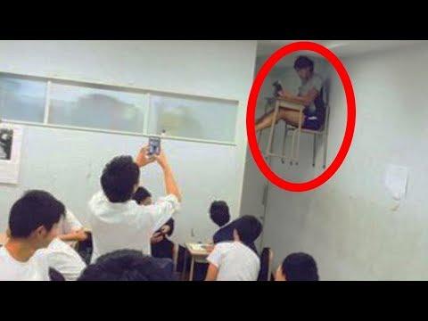 10 أشياء مخيفة تم تصويرها داخل مؤسسات تعليمية..!!