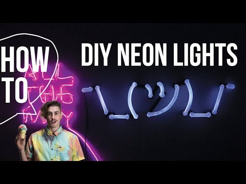 DIY Neon Light