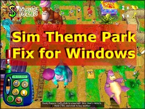 Download game sim theme park for pc free.