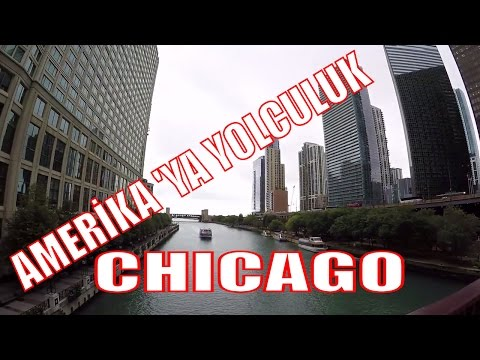 Chicago gezisi devam ediyor - Bölüm 2 (Michigan Lake, Trump Tower, Millenium Park)