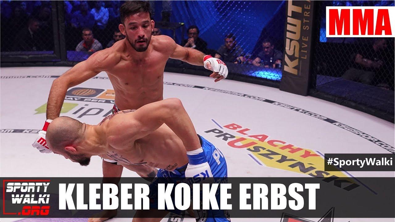 Kleber Koike Erbst po KSW 41