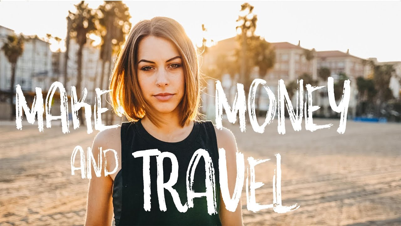 Making MONEY while travelling - An example.