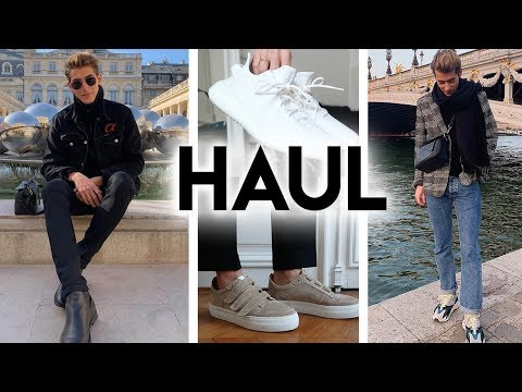 MES DERNIERS ACHATS⎜TRY-ON HAUL MEN ⎜YEEZY, AMI..