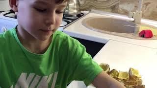 Фаршированный картофель в мундире. Рецепты для детей