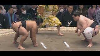 Terunofuji 照ノ富士 v Roga Sumo Day 15,Jonidan Yusho play-off. Form...