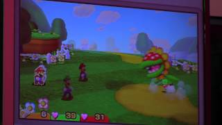Mario & Luigi: Paper Jam | Petey Piranha Gameplay - Nintendo E3