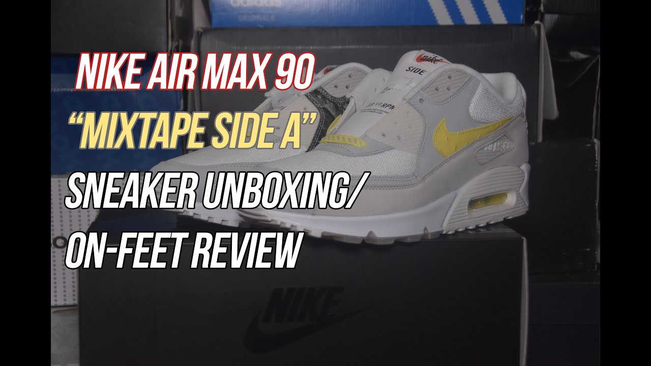 Air Max 90 `Mixtape Side A`   Solepost Unboxings