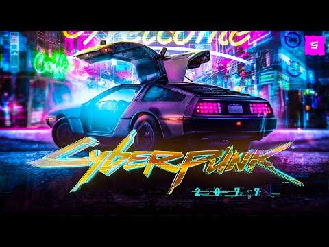 DeLorean in Cyberpunk 2077 | SPEED-ART
